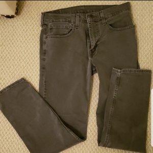 Men's Gray Levi's 502 Jeans - 32x32